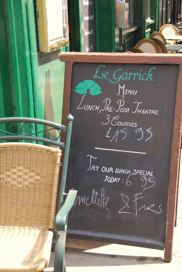 Garrick Street - Le Garrick Brasserie