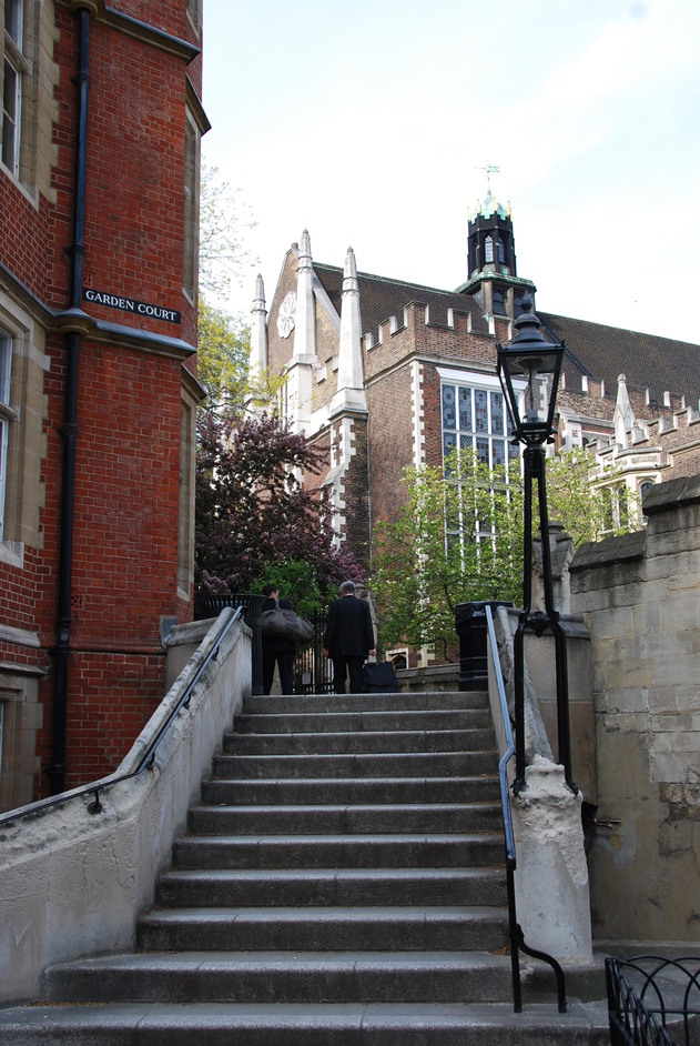 Inns of Court and Royal Courts of Justice - Middle & Inner Temple Grounds