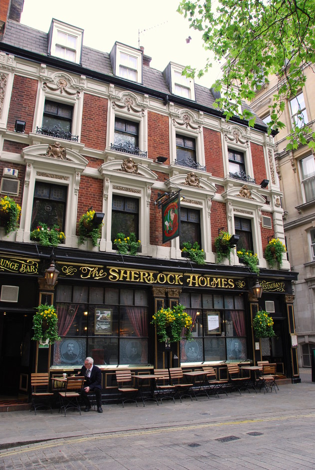 Northumberland Street - The Sherlock Holmes Exterior