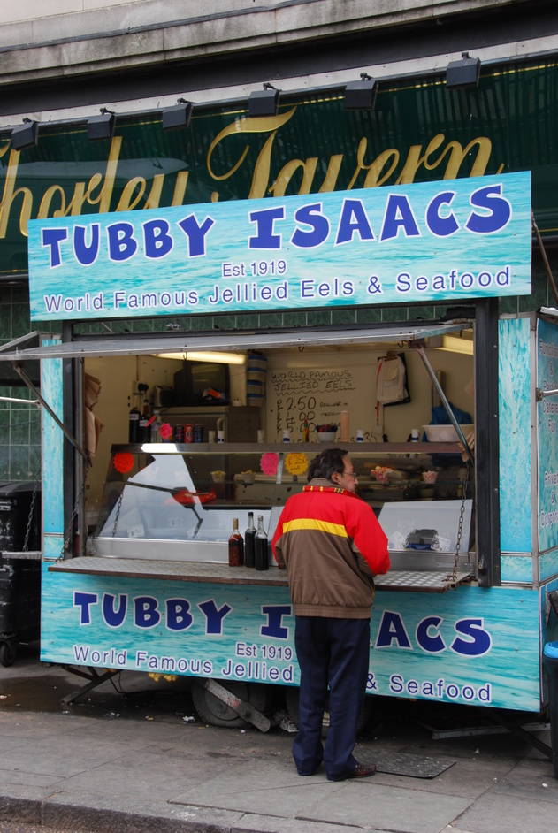 Tower Hamlets - Tubby Isaacs Famous Jellied Eels Since 1919