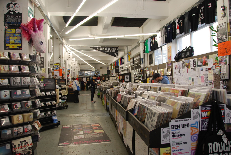 Rough Trade East - Rough Trade Interior