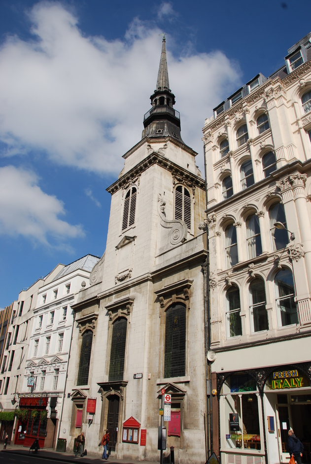 St Martin-within-Ludgate - St Martin-within-Ludgate Exterior