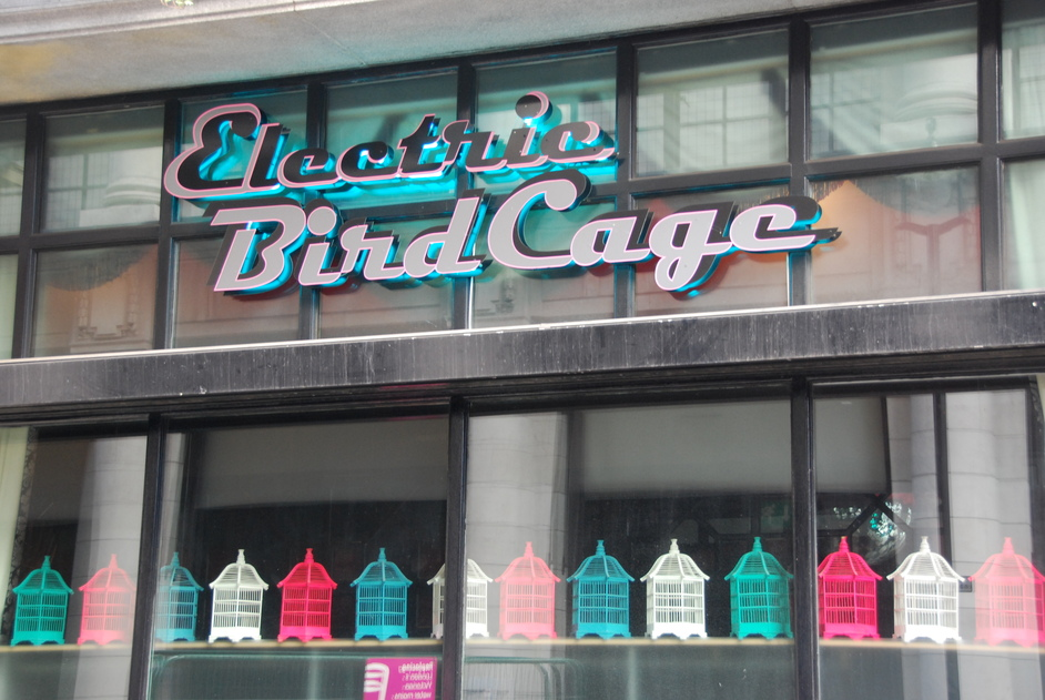 Suffolk Place - Electric Birdcage Exterior