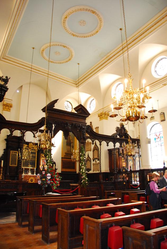 Lothbury - St Margaet's Lothbury Interior