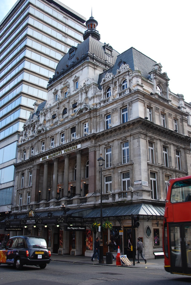 Her Majesty's Theatre - Her Majesty's Theatre Exterior