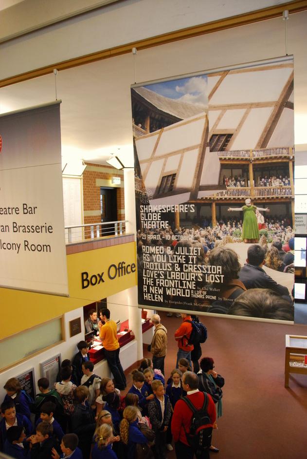 Shakespeare's Globe Theatre - The Globe Theatre Box Office