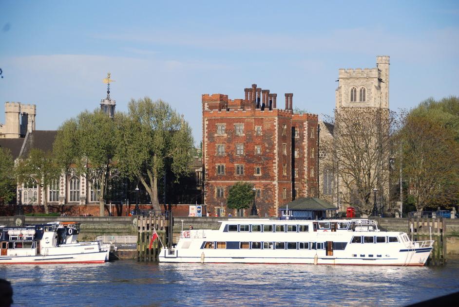 Lambeth Palace - River View Of Lambeth Palace