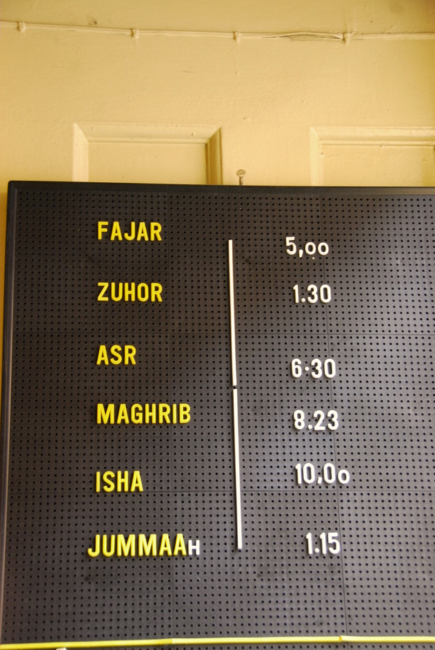 Jamme Masjid - Jamme Masjid Prayer Timetable