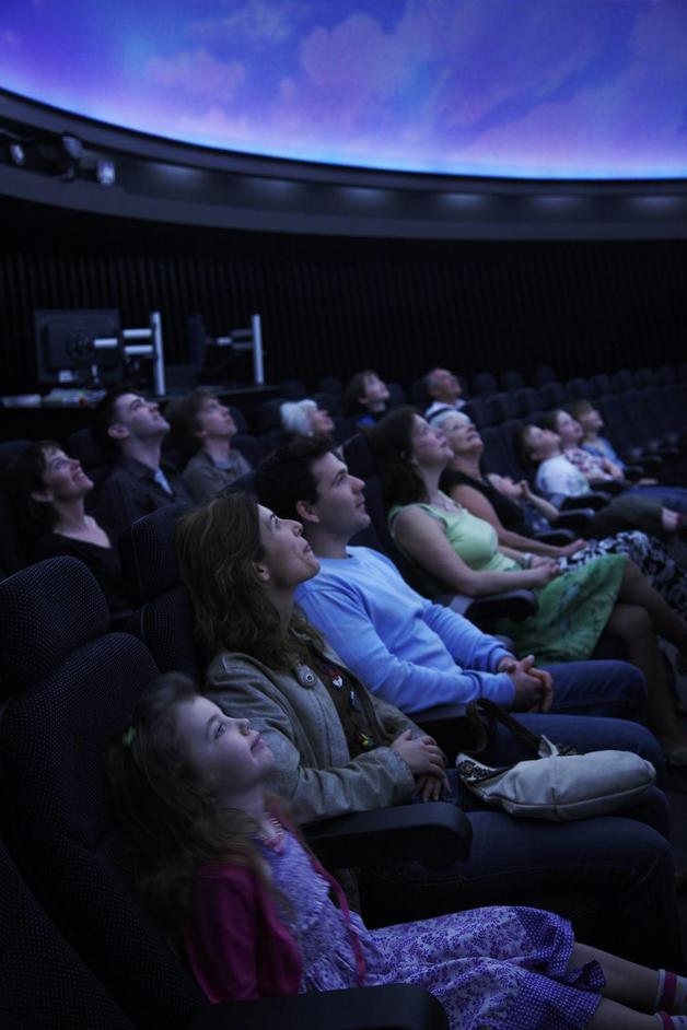 National Maritime Museum: Peter Harrison Planetarium - Audience at the Planetarium