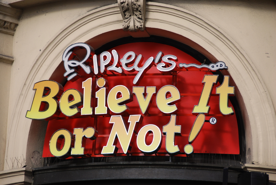 Ripley's Believe It Or Not! Museum London - Ripley's Believe It Or Not