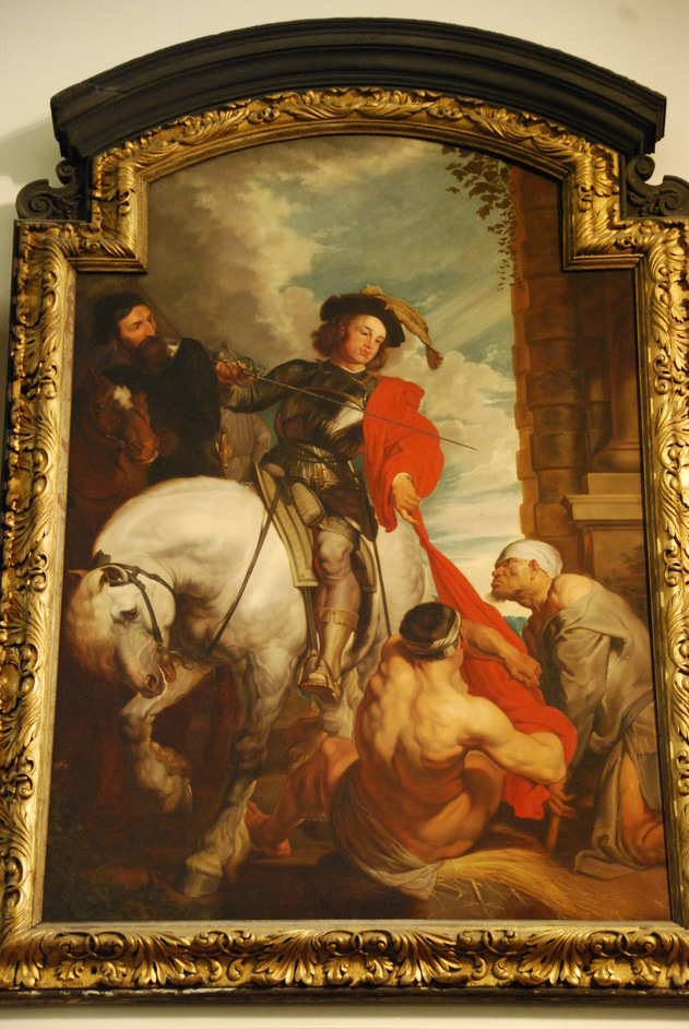 St Martin-within-Ludgate - St Martin-within-Ludgate Painting Of St Martin