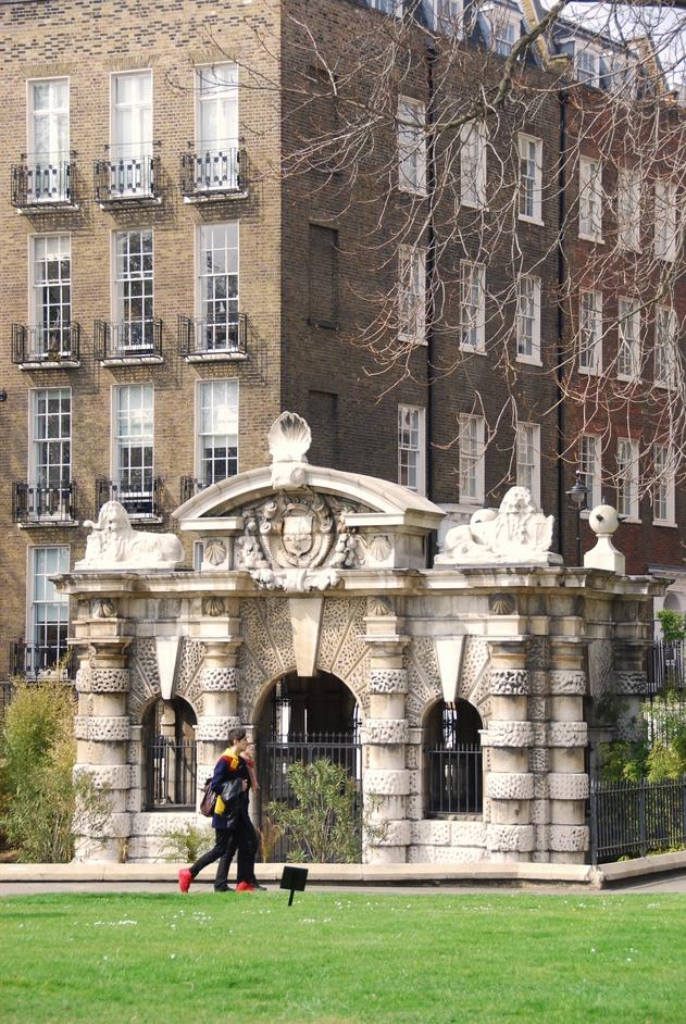 Victoria Embankment Gardens - The Old York Watergate In Embankment Gardens