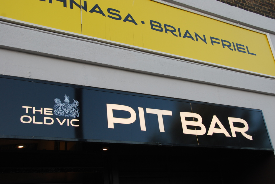 Old Vic Theatre - Old Vic Pit Bar Exterior