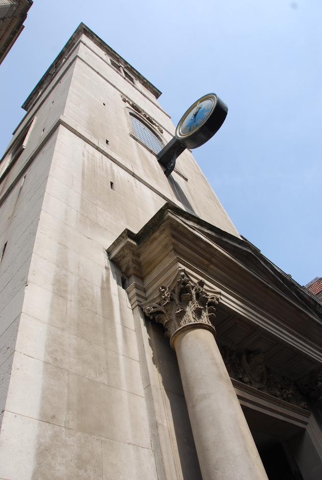 Lothbury - St Margaet's Lothbury Exterior
