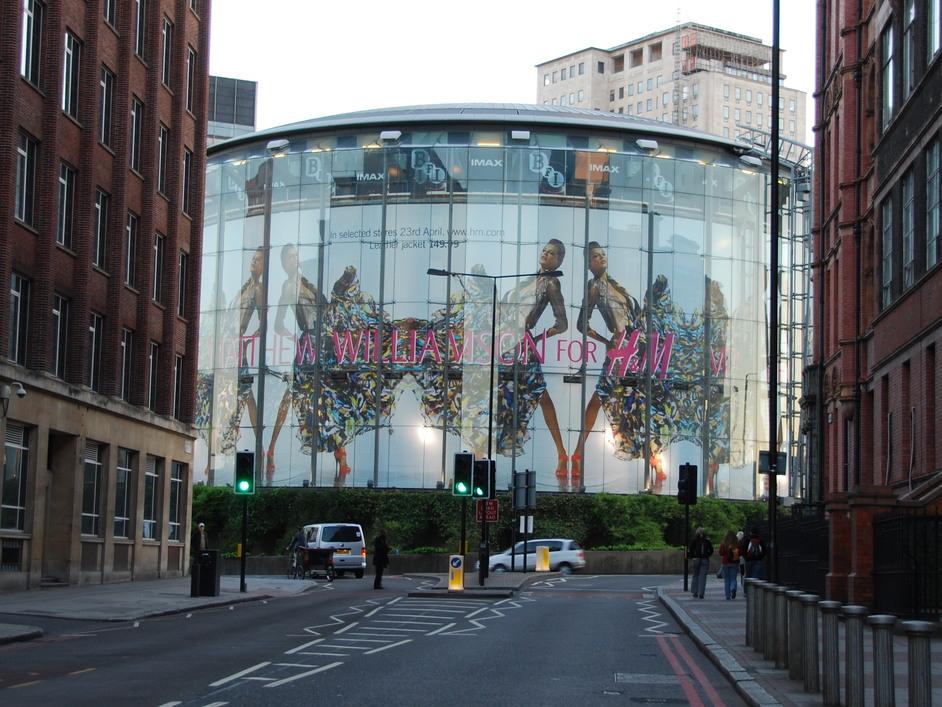BFI IMAX Cinema - View Of The IMAX Waterloo