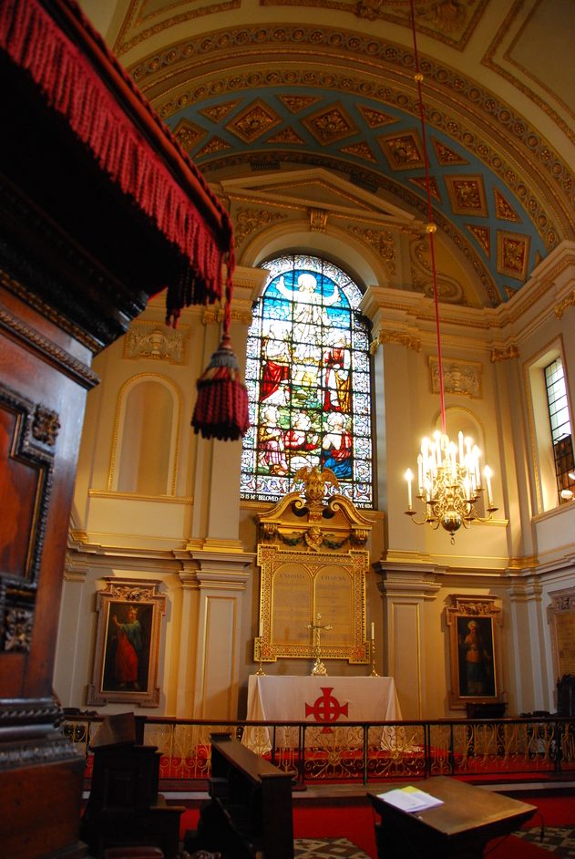 Denmark Street - St Giles-in-the-Fields Interior