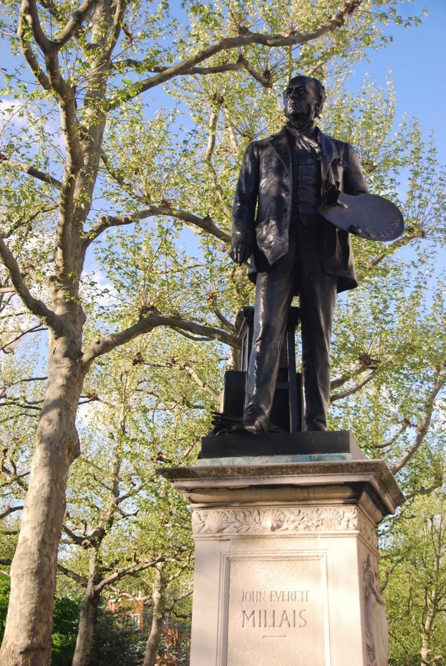 Tate Britain - Tate Britain John Everett Millais statue