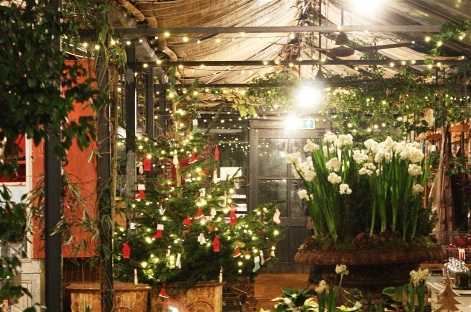 Petersham Nurseries Candlelit Christmas Shopping and Carols - Image supplied by Mirage Photogrpahy