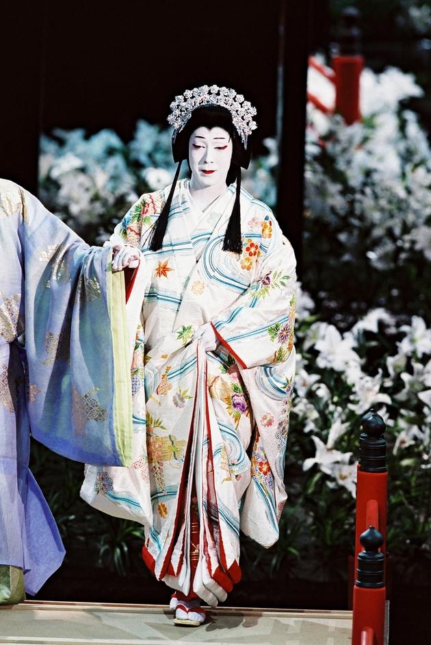 Shochiku Grand Kabuki - Twelfth Night after William Shakespeare - Onoe Kikunosuke as Viola, copyright Shochiku