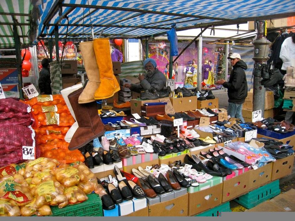 Ridley Road Market - Photo credit: Kyle Taylor