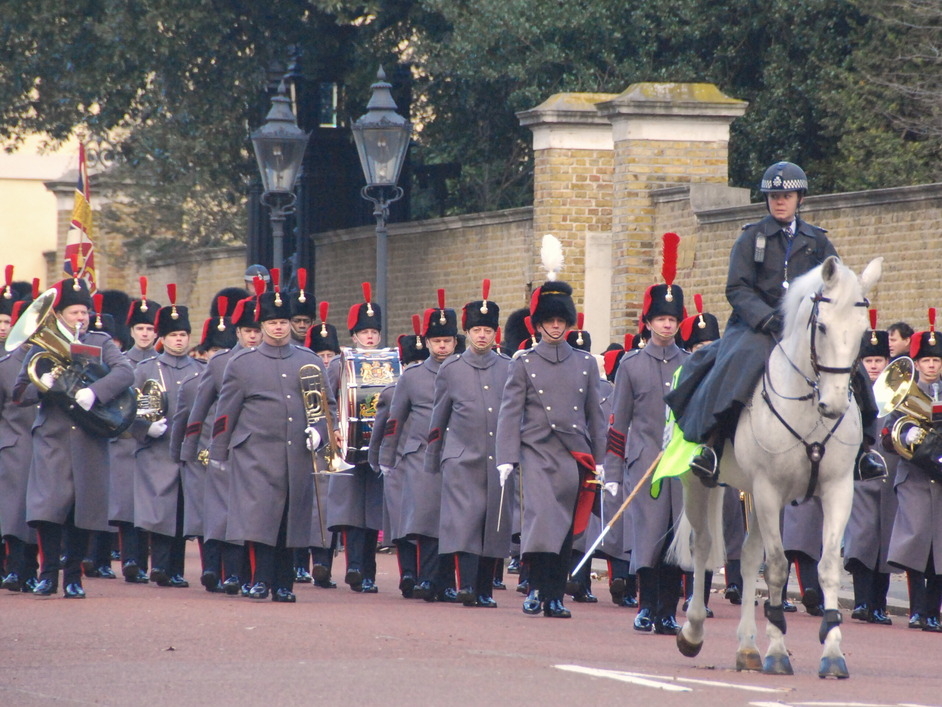 St James's Palace - Guard Change By St James's Palace
