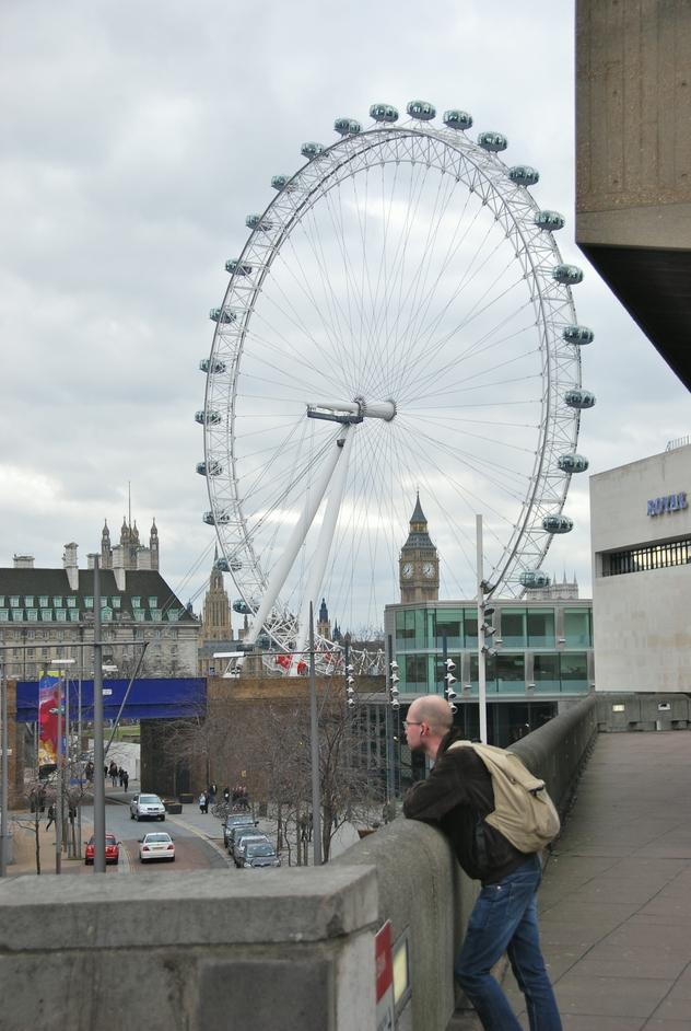 London Eye  - View Of The London Eye