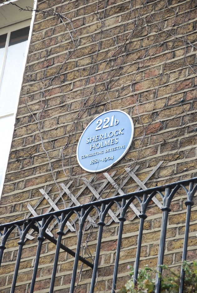 Sherlock Holmes Museum - Sherlock Holmes Blue Plaque