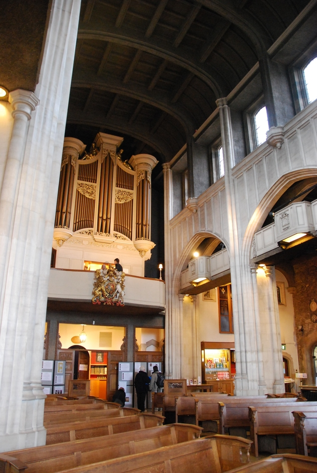 Lower Thames Street - All Hallows By The Tower Interior