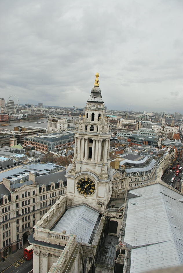 St Paul's Cathedral - View From the Dome Of St Paul's Cathedral