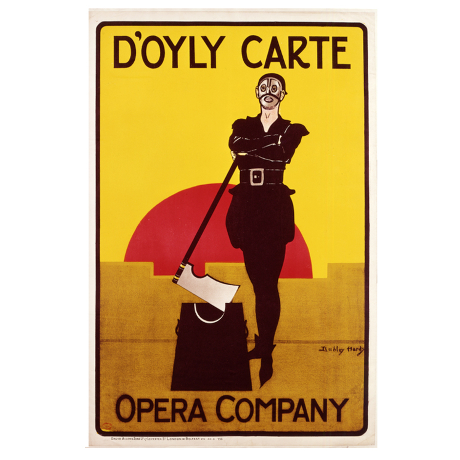 Theatre & Performance Galleries - Poster of D'Oyly Carte's The Yeoman of the Guard, 1897 ©Theatre Museum