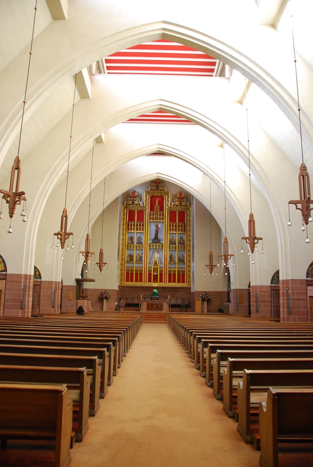 Carmelite Church - Parish of Our Lady Mount Carmel Interior