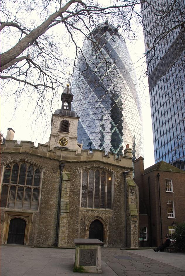 St Helen's Church, Bishopsgate - St Helen's Bishopsgate