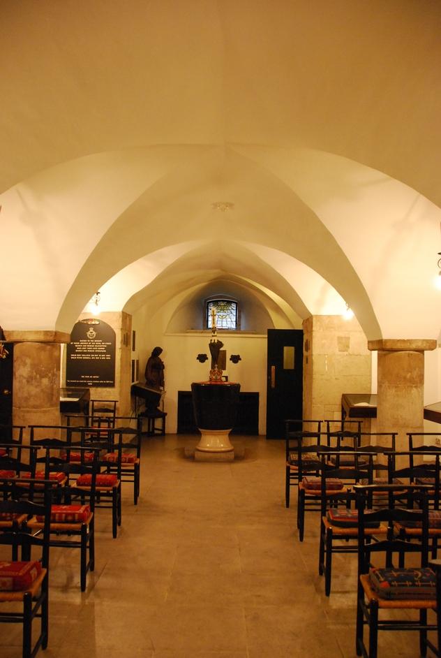 St Clement Danes - St Clement Danes Crypt