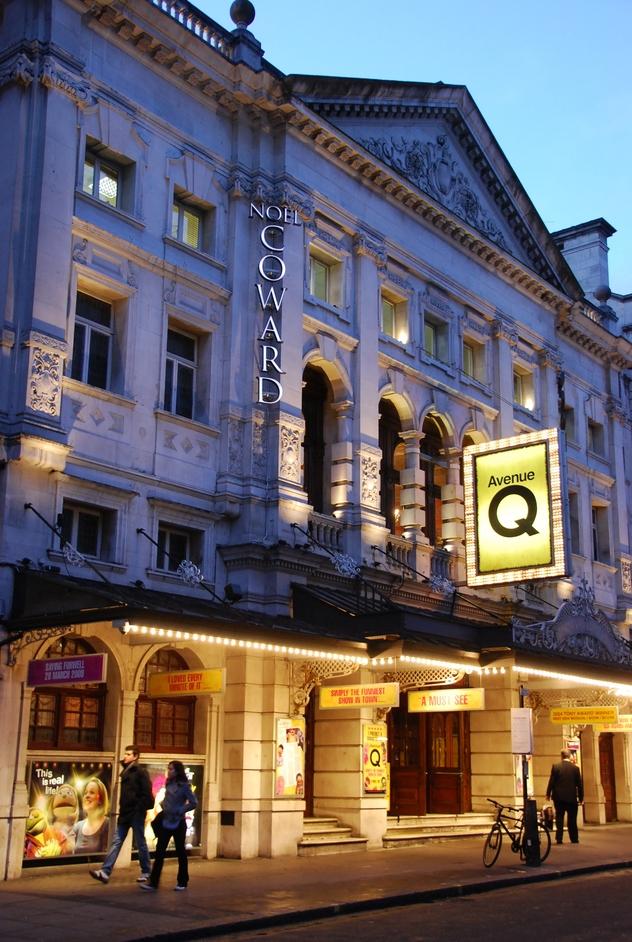 Noel Coward Theatre - Noel Coward Theatre Exterior