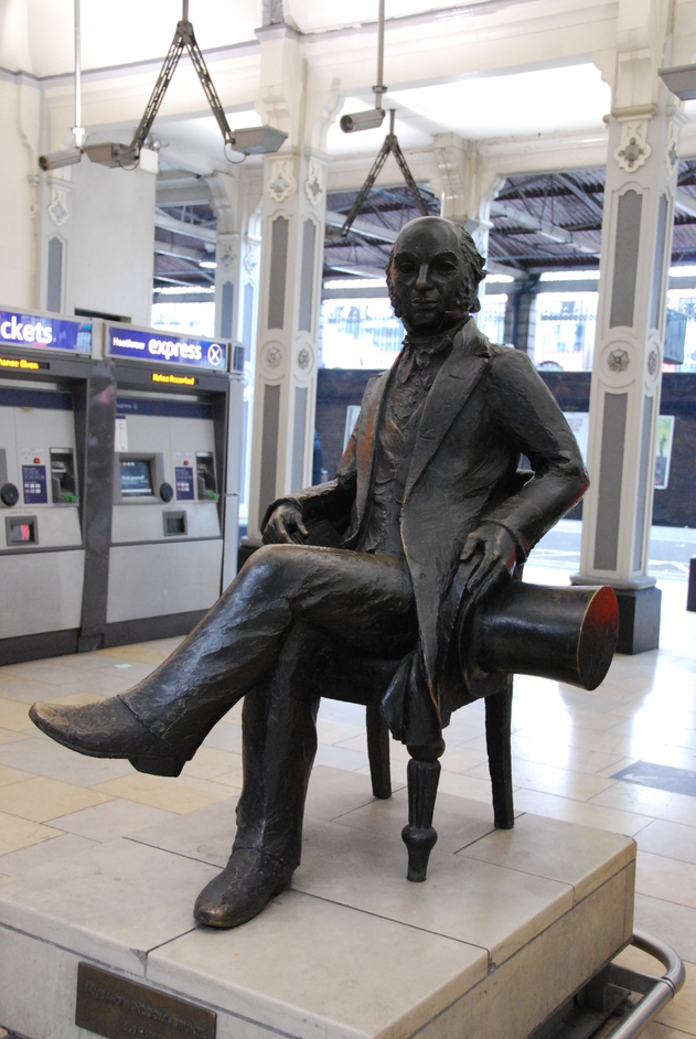 Paddington Railway Station - Isambard Kingdom Brunel Statue
