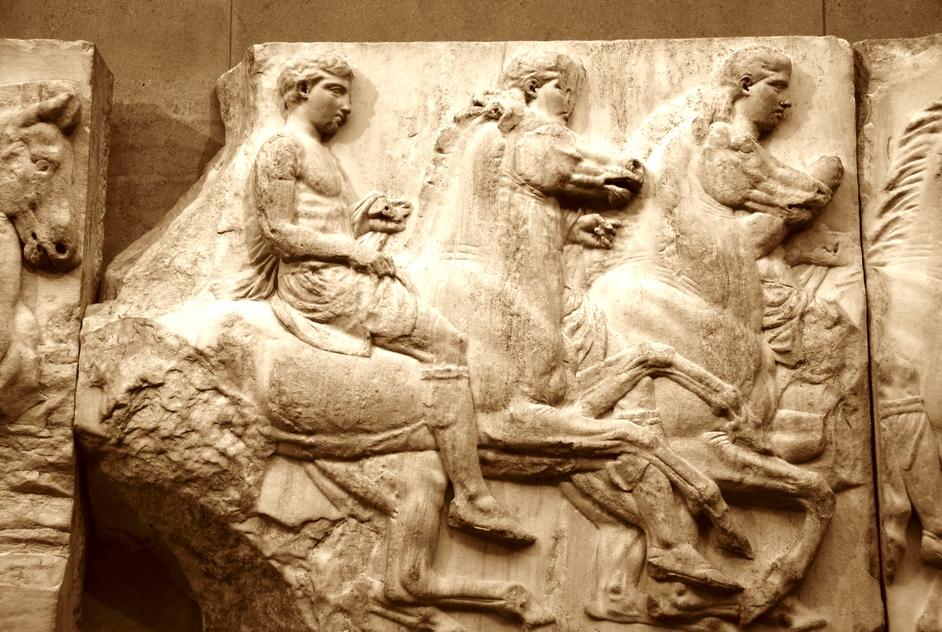 British Museum - British Museum Partheon Marbles