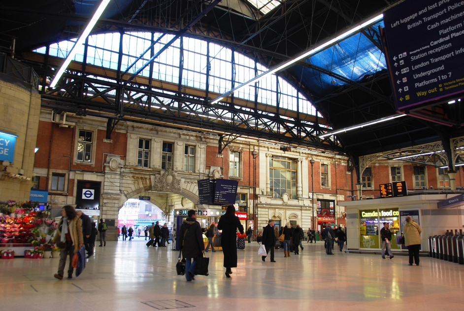 victoria railway station victoria london nearby hotels. Black Bedroom Furniture Sets. Home Design Ideas