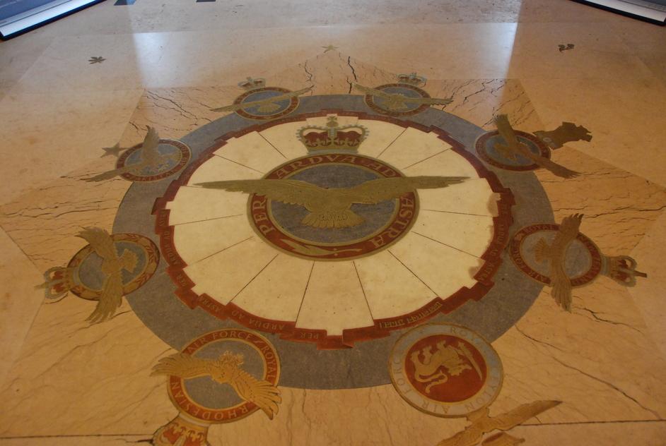 St Clement Danes - St Clement Danes RAF Floor