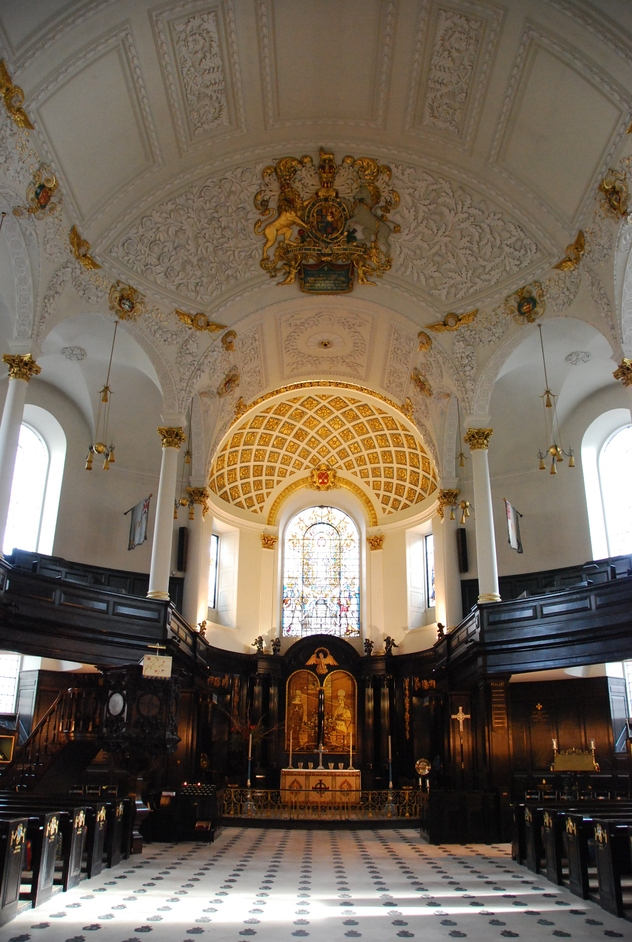 St Clement Danes - St Clement Danes Nave