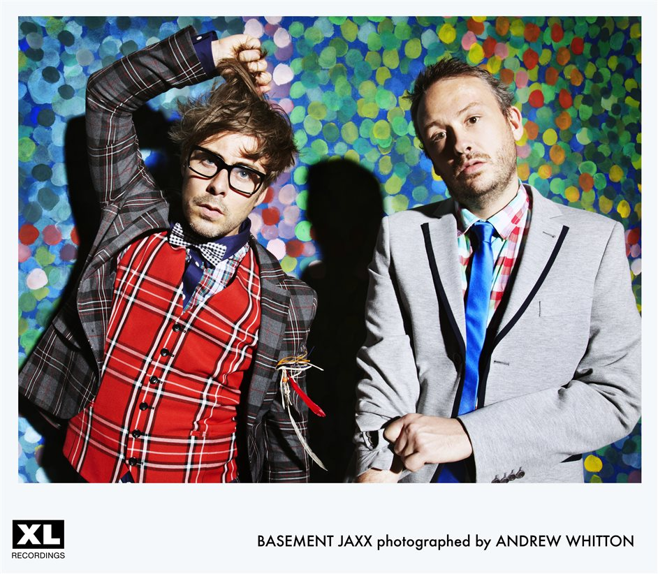 Basement Jaxx - Basement Jaxx, photo by Andrew Whitton