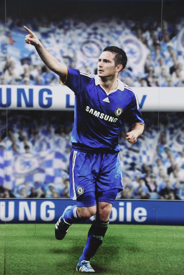 Stamford Bridge: Chelsea FC - Frank Lampard Wall Poster