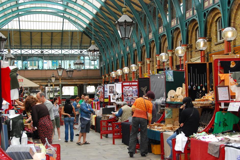 Covent Garden - The Apple Market
