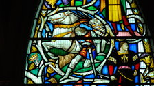 Southwark Cathedral - Shakespeare Richard III Window