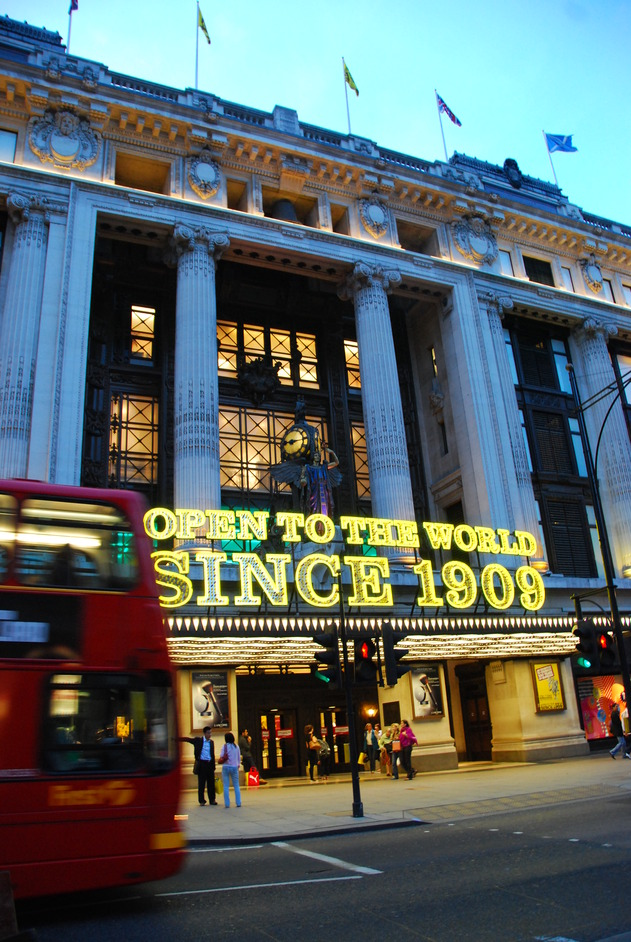 Oxford Street - Selfridges Department Store