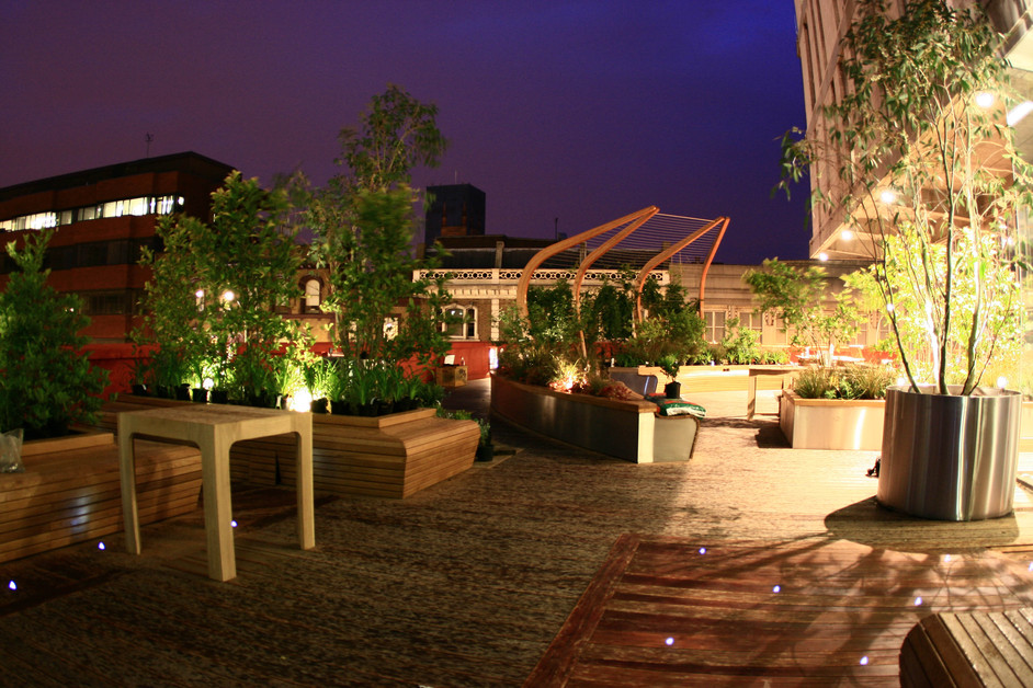Lyric hammersmith roof garden images for Terrace on the park restaurant