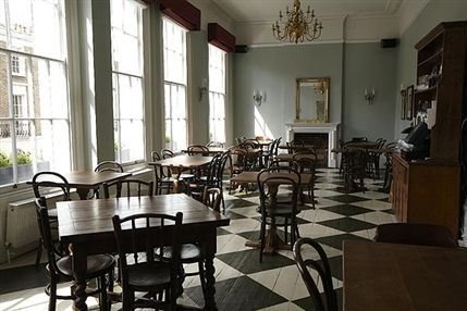 The Drapers Arms - Upstairs dining room