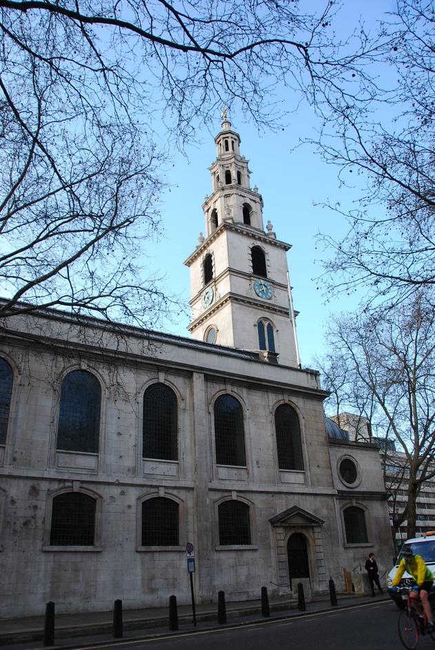 St Clement Danes - St Clement Danes Exterior