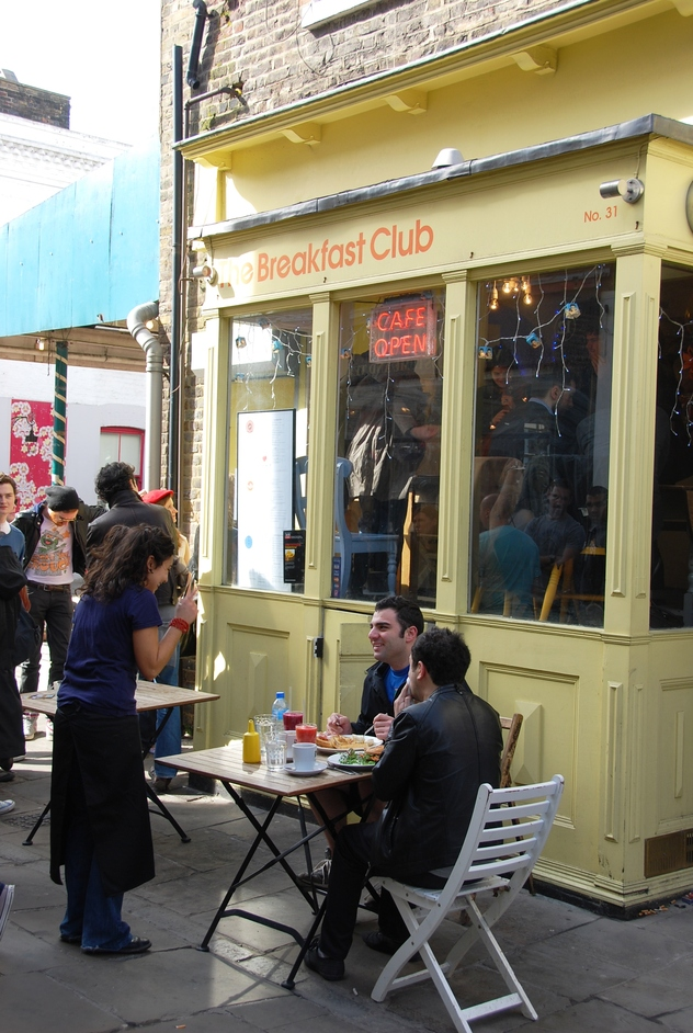 The Breakfast Club, Angel - Breakfast Club On Camden Passage