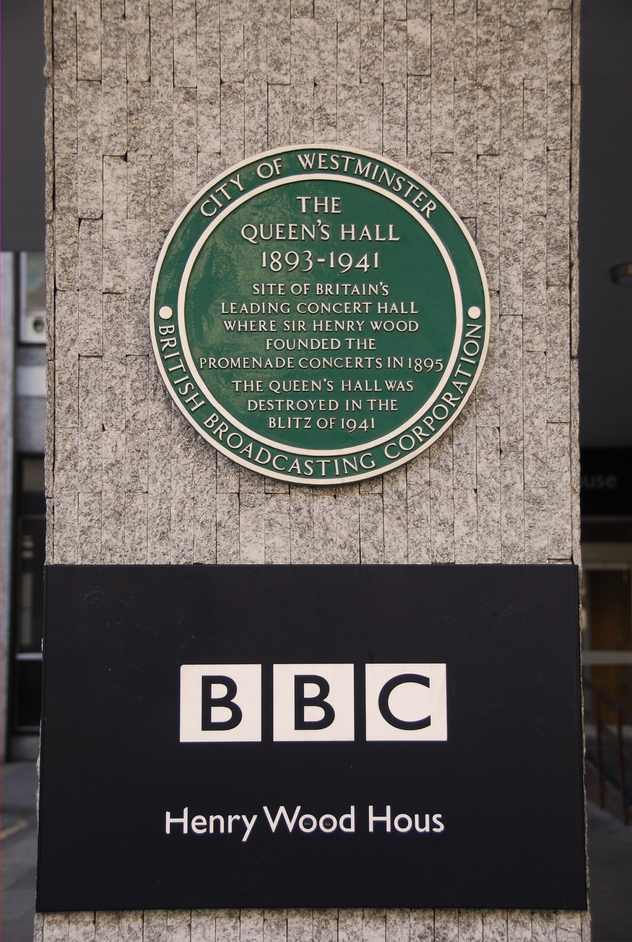 Portland Place - BBC Plaque
