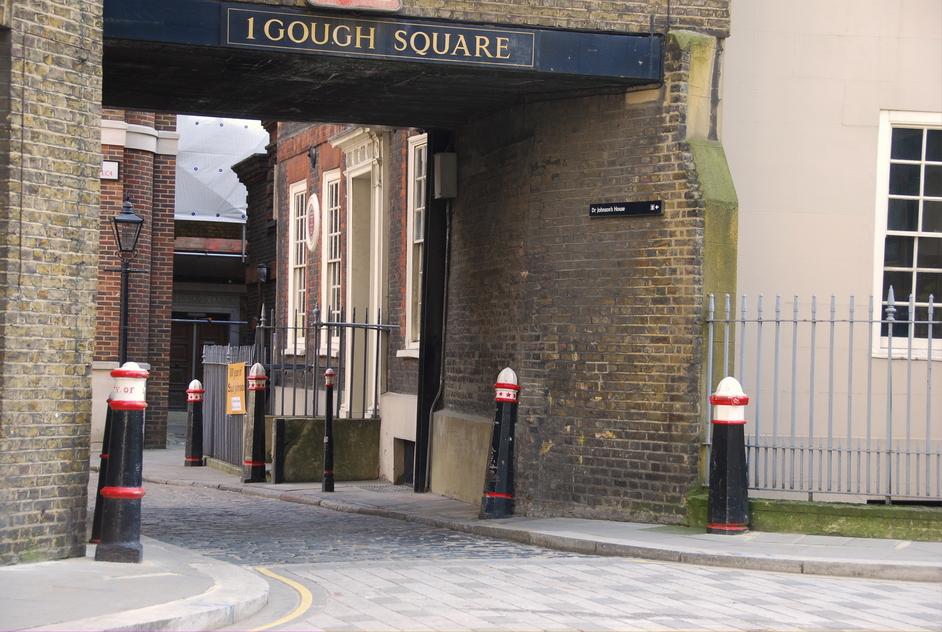 Doctor Johnson's House - Dr Johnson's House Gough Square